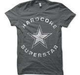 HARDCORE SUPERSTAR - T-SHIRT, TRASH LOGO VINTAGE