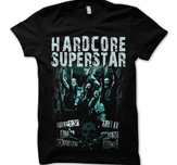 HARDCORE SUPERSTAR - T-SHIRT, PARTY AIN'T OVER