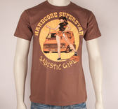 HARDCORE SUPERSTAR - T-SHIRT, SADISTIC (BROWN)