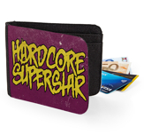 HARDCORE SUPERSTAR - WALLET, LOGO