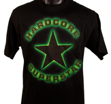 HARDCORE SUPERSTAR - T-SHIRT, GREEN GLOW
