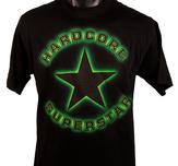 HARDCORE SUPERSTAR - T-SHIRT, GREEN GLOW